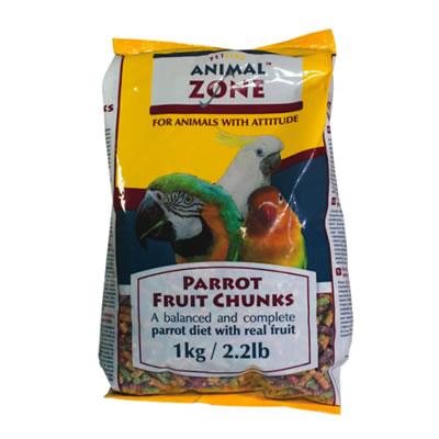 parrot-fruit-chunks